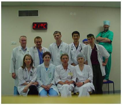 Врачи-реаниматологи отделения